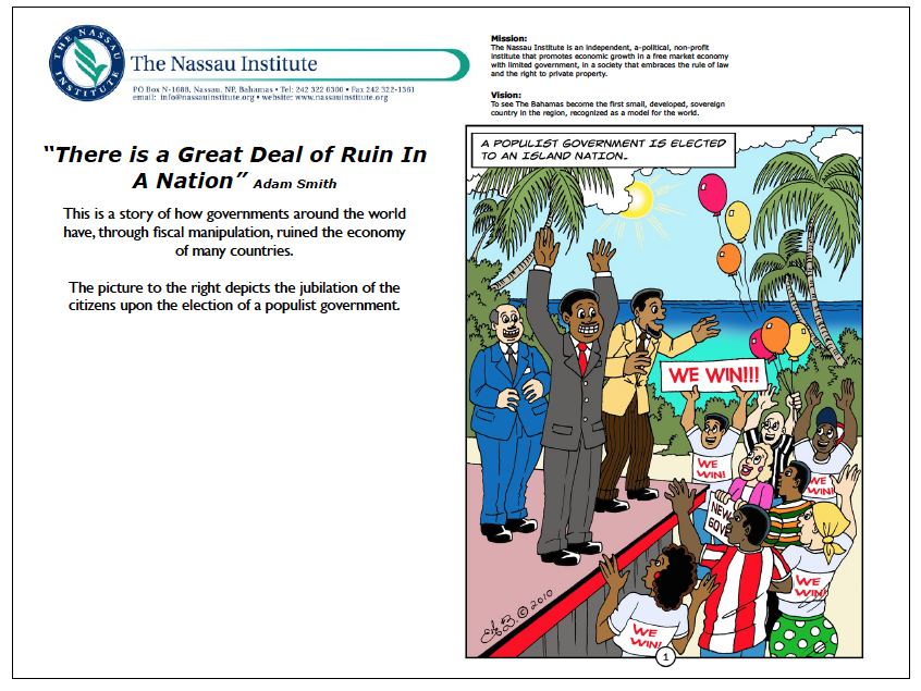 There is a Great Deal of Ruin In A Nation - WeblogBahamas com
