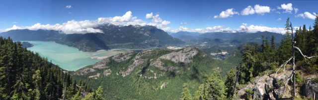 Lookout at Sea to Sky Gondola  Squamish BC