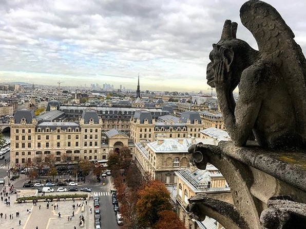 View from Notre Dame